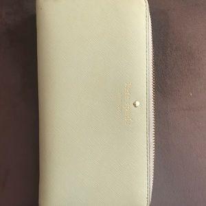 Kate Spade mint wallet